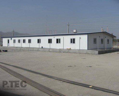 ساختمان تجهیز کارگاه پالایشگاه نفت ستاره