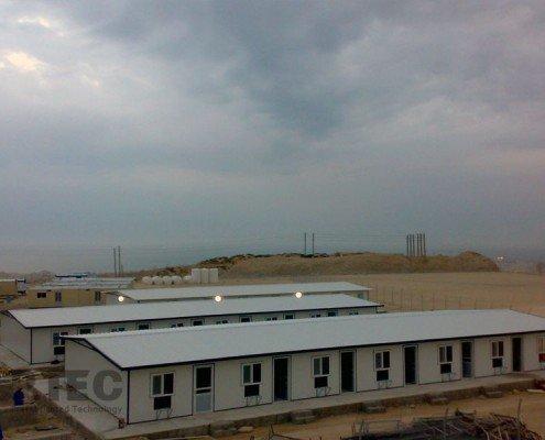 ساختمان تجهیز کارگاه کانرود سازه