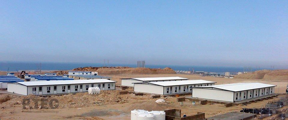 ساختمان پیش ساخته تجهیز کارگاه کانرود سازه