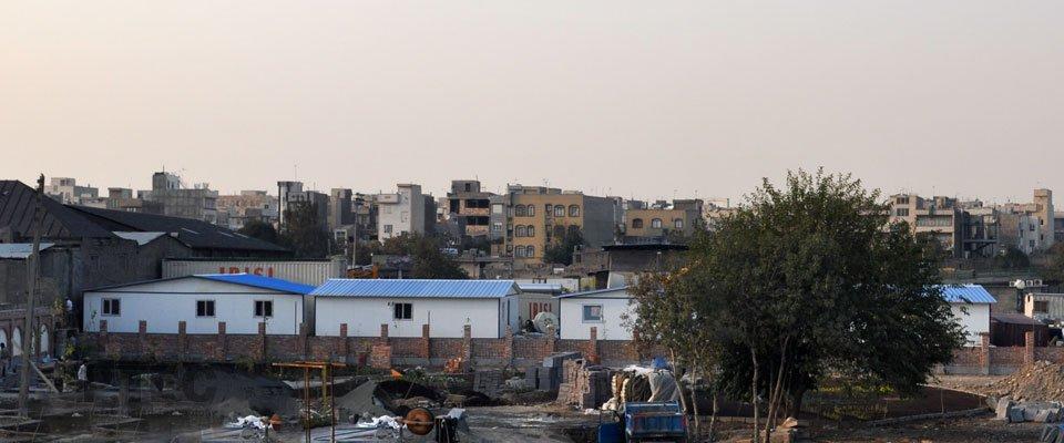 ساختمان پیش ساخته تجهیز کارگاه خط 7 مترو تهران