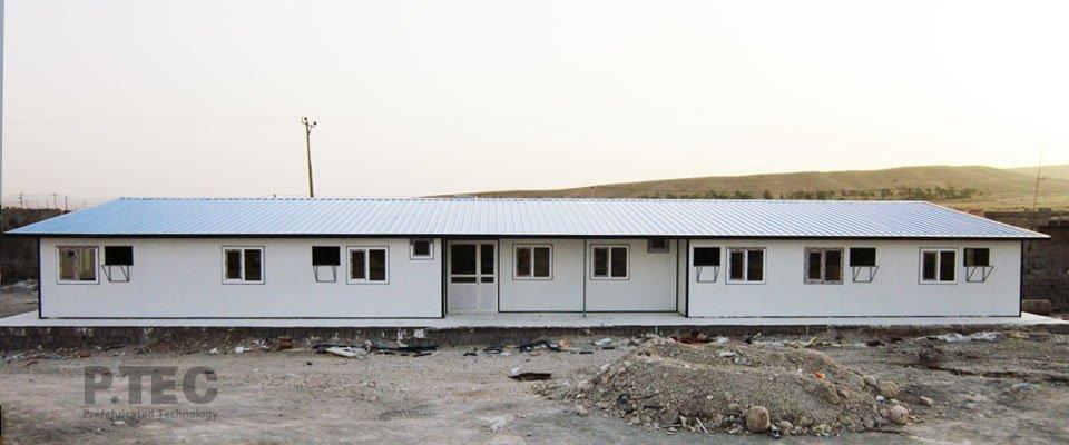 ساختمان تجهیز کارگاه بهبهان